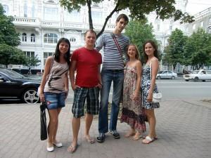 Мы с ребятами из Екатеринбурга